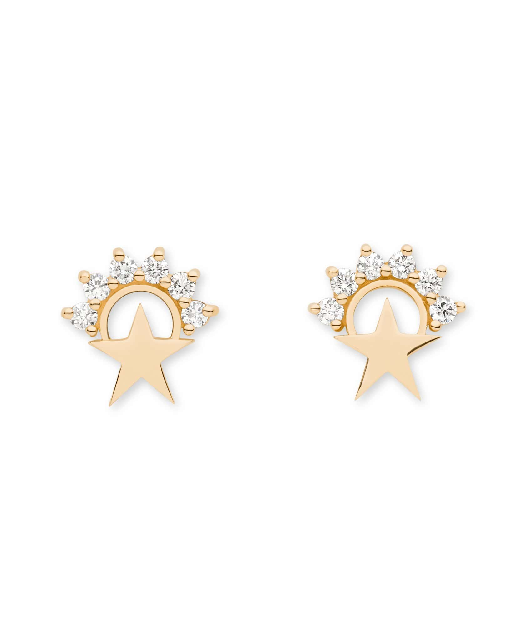Star Studs: Discover Luxury Fine Jewelry | Nouvel Heritage || Yellow Gold