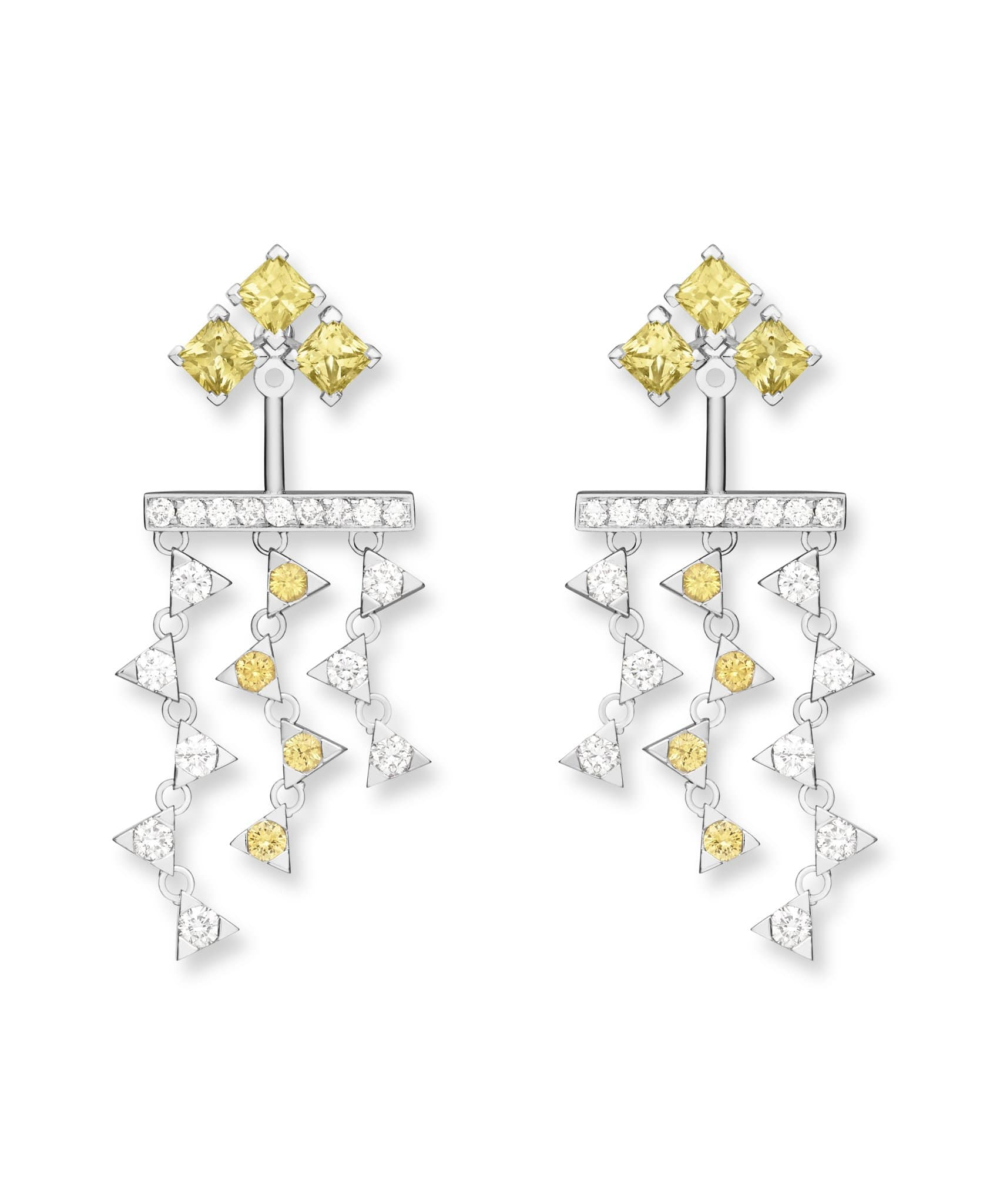 Talia Princess Yellow Diamond & Sapphire: Discover Luxury Fine Jewelry | Nouvel Heritage