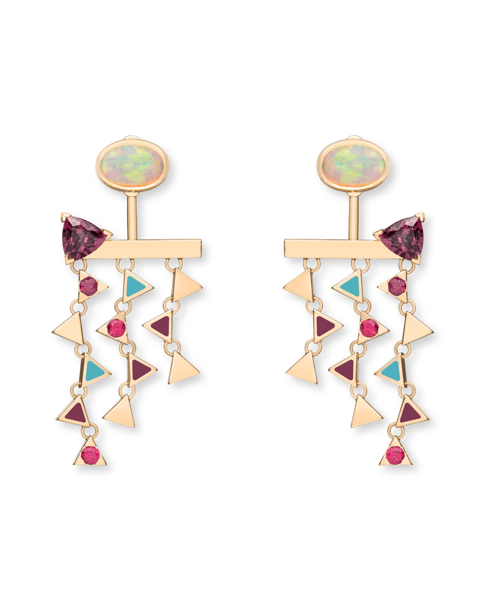 Talia White Opal & Spinel: Discover Luxury Fine Jewelry | Nouvel Heritage