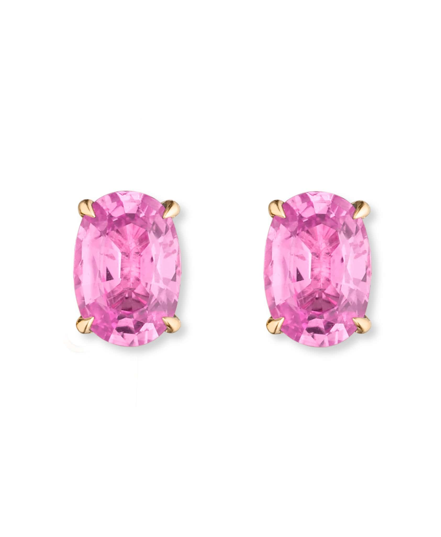 Tara Pink Tourmaline Studs: Discover Luxury Fine Jewelry | Nouvel Heritage || Rose Gold