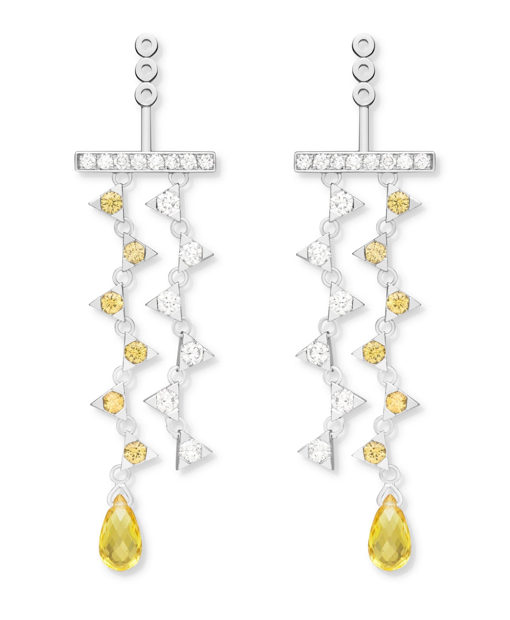 Tessa Princess Yellow Diamond & Sapphire: Discover Luxury Fine Jewelry | Nouvel Heritage