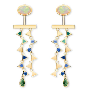 Tessa White Opal & Blue Sapphire: Discover Luxury Fine Jewelry | Nouvel Heritage