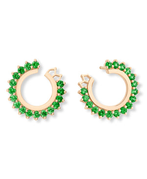 Tsavorite Earrings - Nouvel Heritage