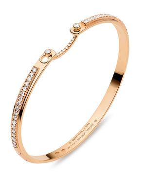 Tuxedo Mood Bangle: Discover Luxury Fine Jewelry | Nouvel Heritage
