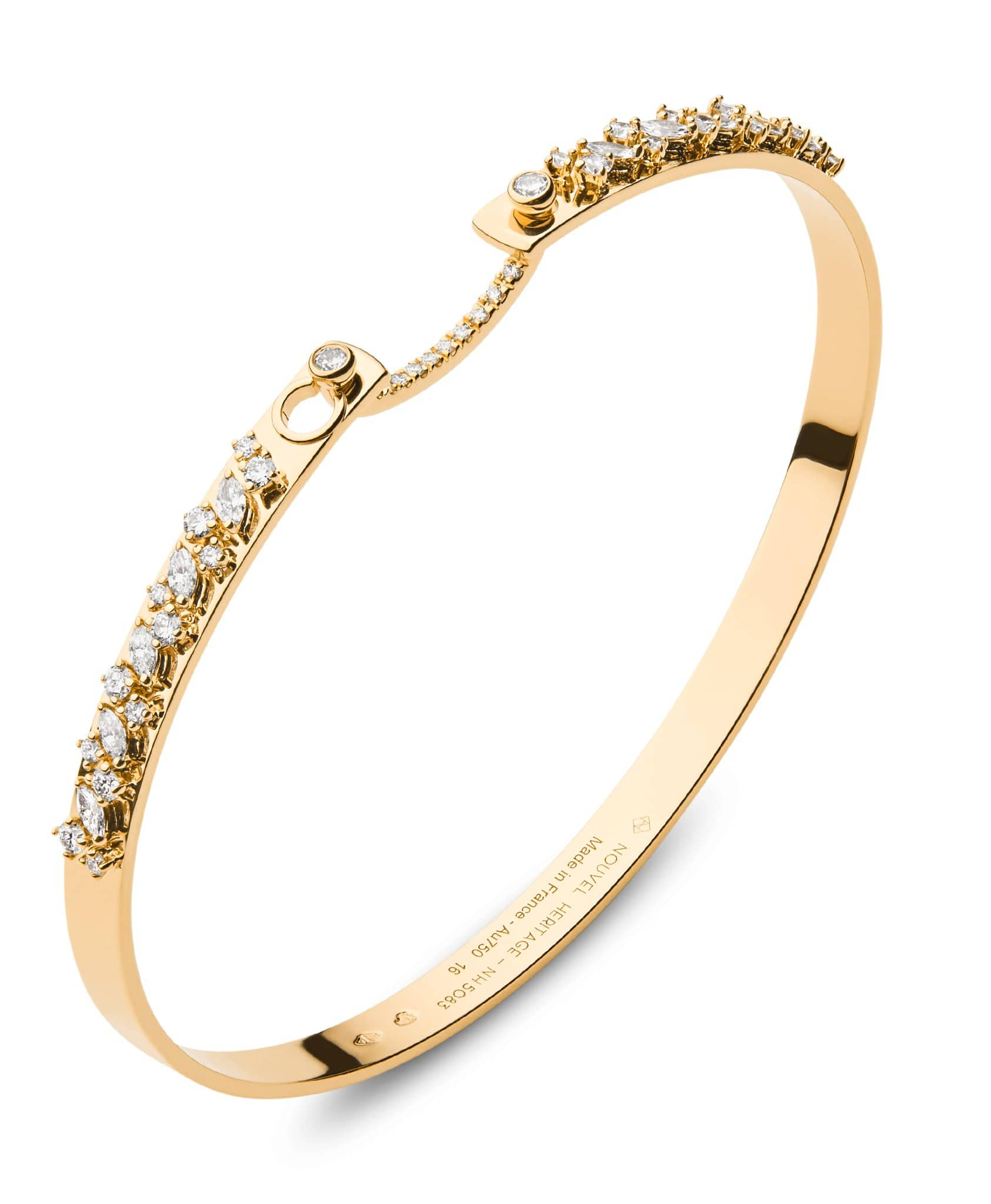 Under the Stars Mood Bangle: Discover Luxury Fine Jewelry | Nouvel Heritage