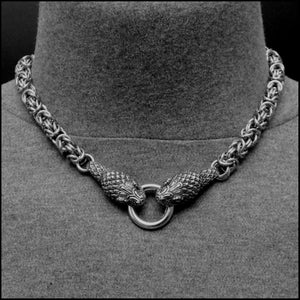 Guardian Cobras Extra Thick 9mm Chainmaille Multipurpose Chain Necklace