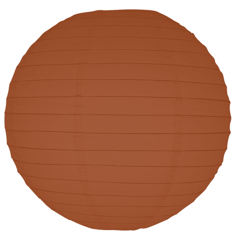 Brown Round Paper Lanterns