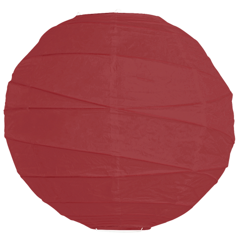 Burgundy Criss Cross Paper Lanterns