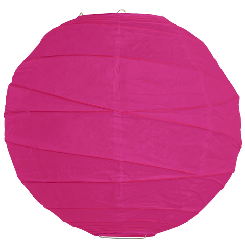 Dark Magenta Criss Cross Paper Lanterns.