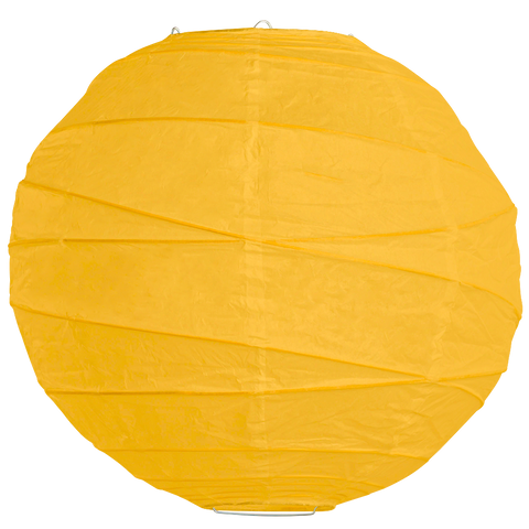 Dark Yellow Criss Cross Paper Lanterns