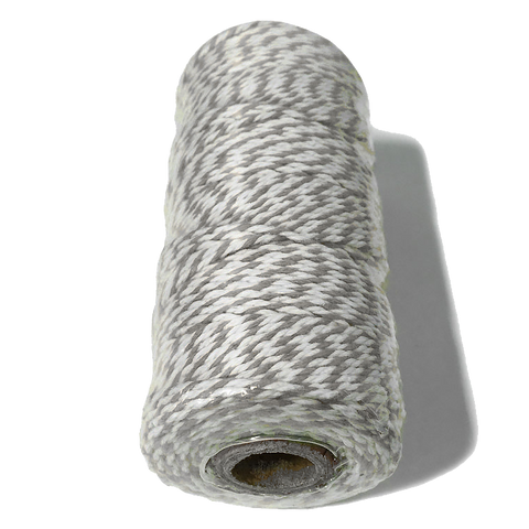 Grey and White Bakers Twine