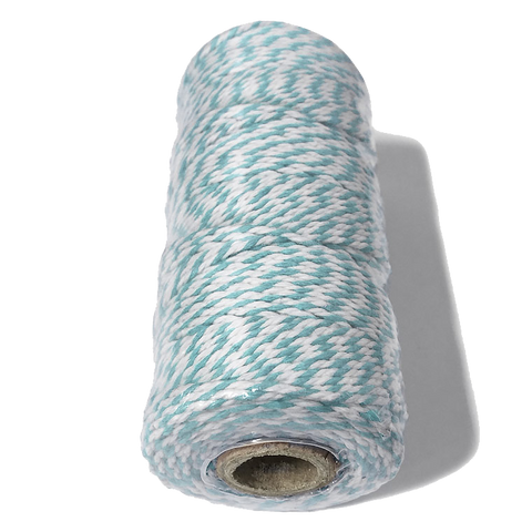 Light Blue and White Bakers Twine.