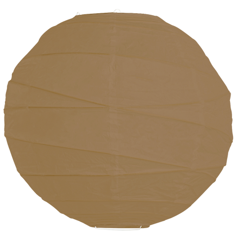 Light Brown Criss Cross Paper Lanterns