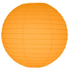 Light Orange Round Paper Lanterns.