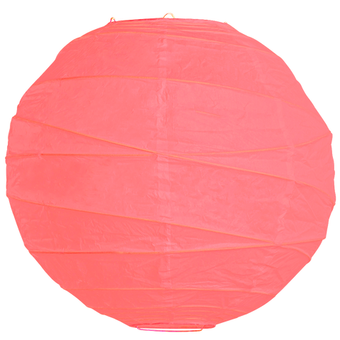 Rose Pink Criss Cross Paper Lanterns