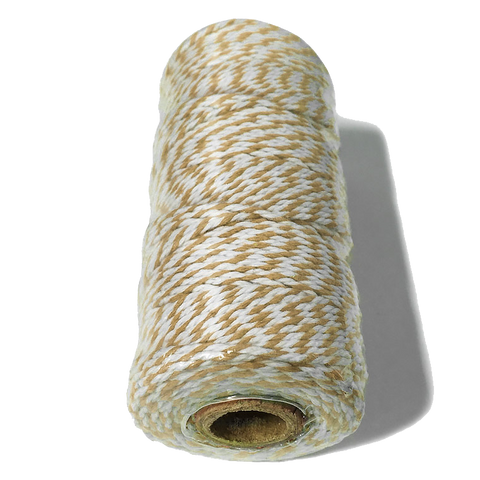 Tan and White Bakers Twine