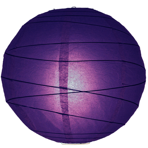 Violet Criss Cross Paper Lanterns