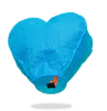 ECO Blue Heart Sky Lanterns (Wire-Free)