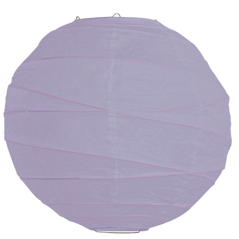 Lavender Criss Cross Paper Lanterns.