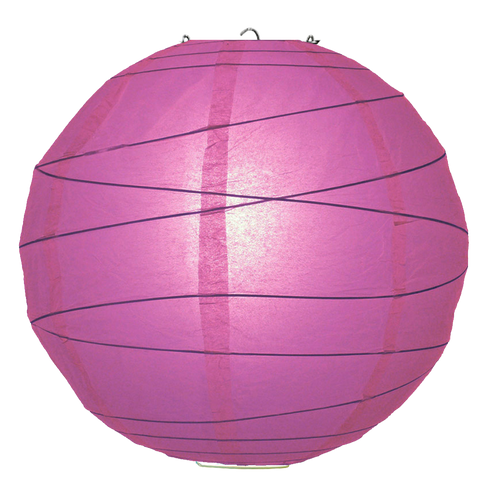 Mulberry Purple Criss Cross Paper Lanterns.