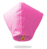 ECO Pink Diamond Sky Lanterns (Wire-Free).