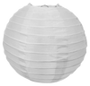 White Round Silk Lanterns