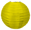 Yellow Round Silk Lanterns