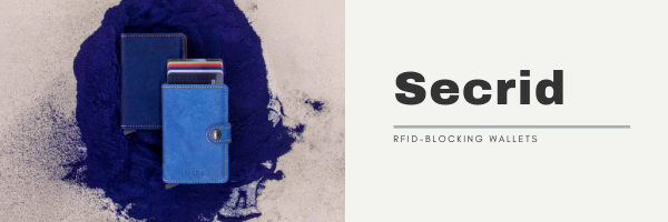 Secrid RFID-Blocking Wallets Free Monogramming