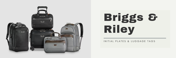 Briggs & Riley Free Monogramming