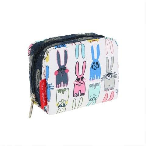 LeSportsac + Peter Jensen Square Cosmetic Bag