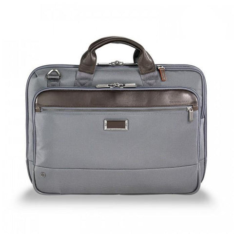 Briggs & Riley @Work Slim Brief Grey