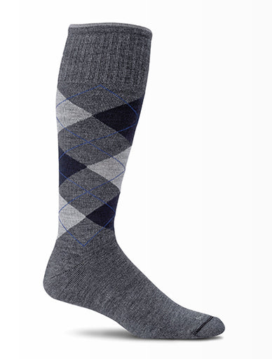 Sockwell Argyle - Mens 15-20 mmHg Compression Socks
