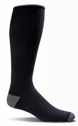 Sockwell Men's Elevation Graduated Compression Sock Black
