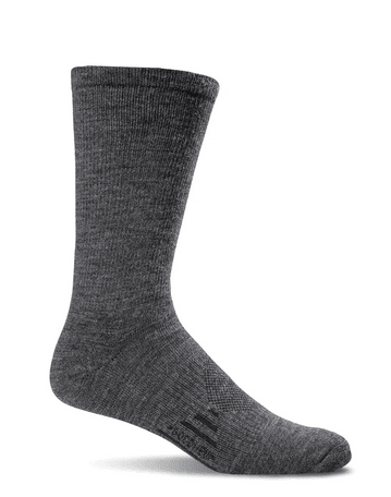 Sockwell Men's Montrose Essential Comfort Socks Charcoal