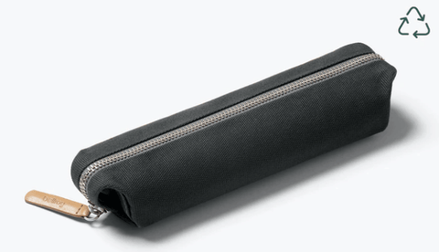Bellroy Woven Pencil Case Charcoal