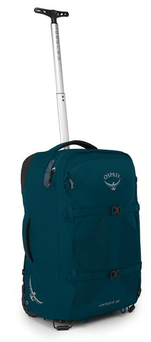 Osprey Farpoint 36L Wheeled Travel Pack Carry-On Petrol Blue
