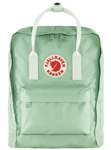 Fjallraven Kanken Backpack Mint Green Cool White