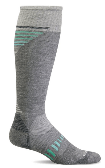 Sockwell Women's Ascend II Knee High Graduated Compression Sock Grey