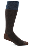 Sockwell Men's Bart Graduated Compression Sock Bark