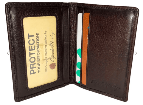 Osgoode Marley  RFID Double ID Card Case - Black