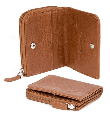 Osgoode Marley RFID Small Billfold with Zip Pocket