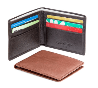 Osgoode Marley RFID Mini Thinfold Wallet - Black