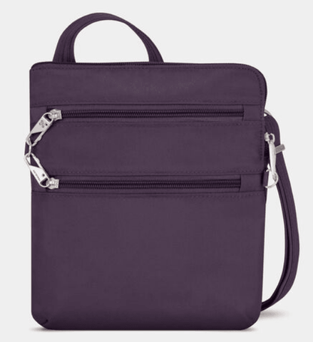Travelon Anti-Theft Classic Slim Double Crossbody