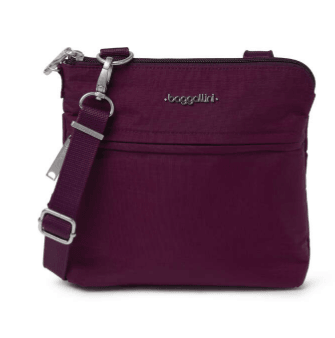 Baggallini Anti-Theft Leisure Crossbody Bag
