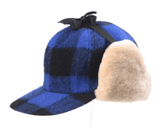 "Crown Cap ""The Yukon"" Buffalo Check Fudd Cap"