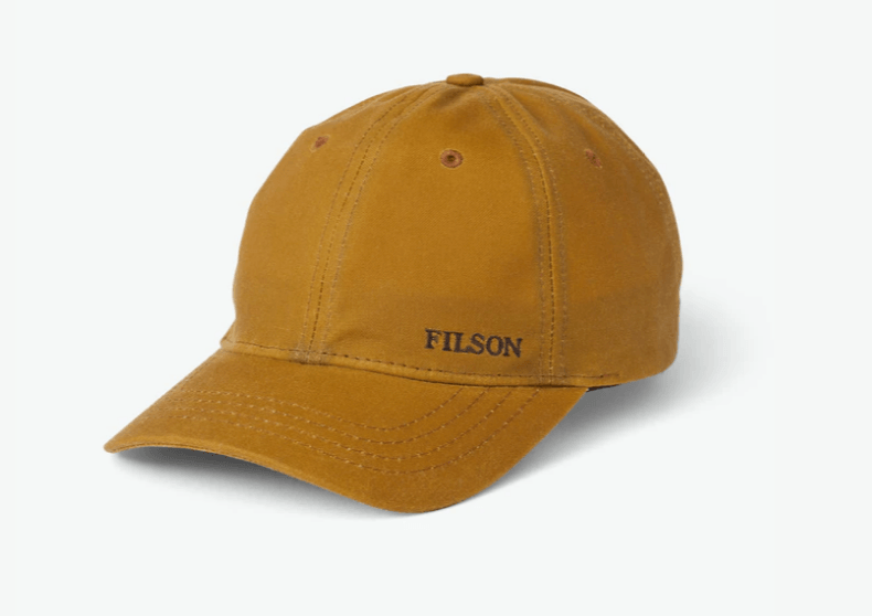Filson Oil Tin Low-Profile Cap
