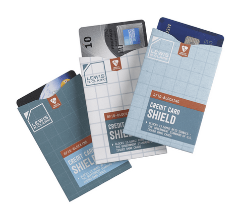 Lewis N. Clark RFID-Blocking Credit Card Sheild (3pk)