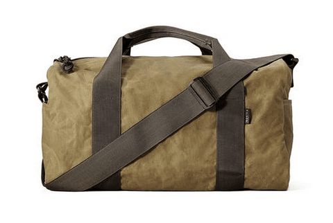 Filson Oil Finish Duffle Bag Small Tan