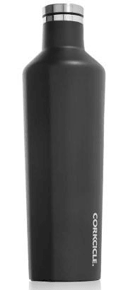 25oz matte black corkcicle tumbler