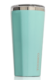 16oz gloss turquoise corkcicle tumbler